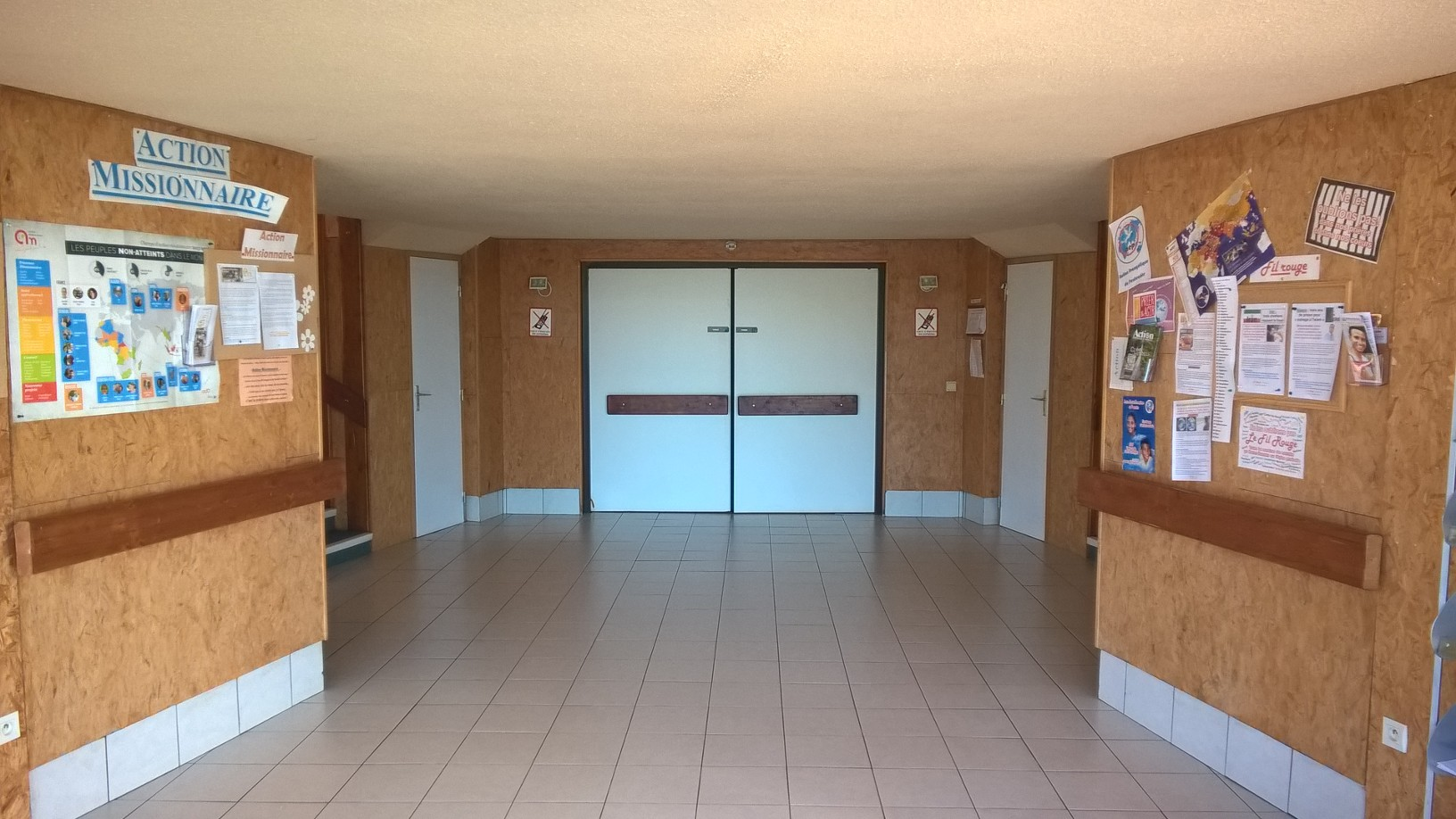 Le Hall d'Accueil